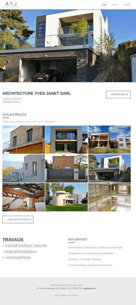 Yves Janet Architect