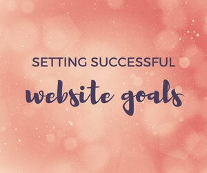 setting successful website goals blog image
