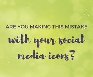 Are you making this mistake with your social media icons?