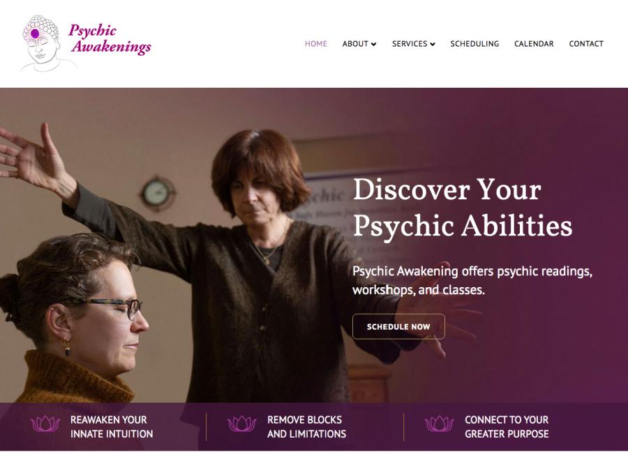 psychic awakenings website home page
