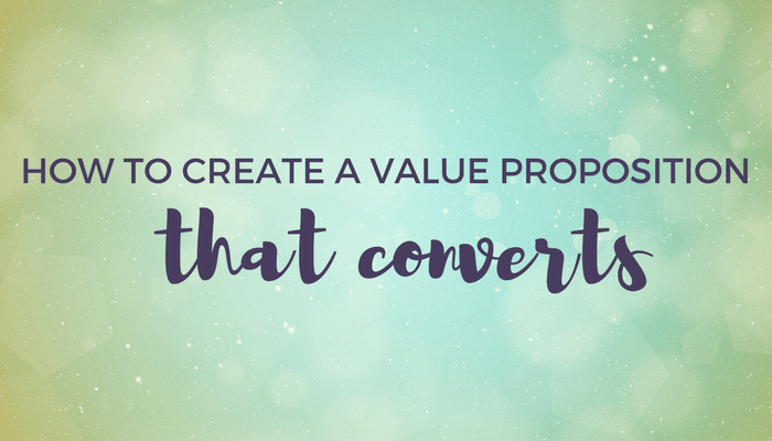 How to create a value proposition that converts header image