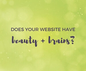 does your website have beauty and brains featured image