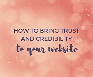 How to Bring Trust and Credibility to Your Website featured image
