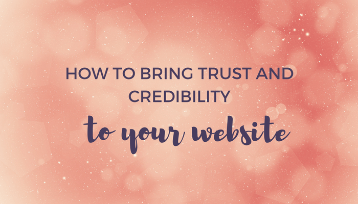 How to Bring Trust and Credibility to Your Website header image