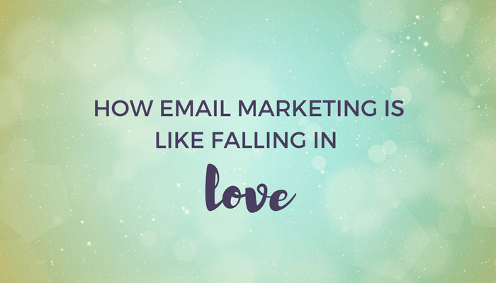 How email marketing is like falling in love header image
