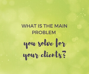 What is the MAIN problem you solve for your clients featured image
