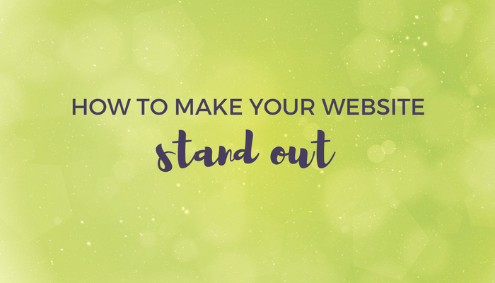 how to make your website stand out header image