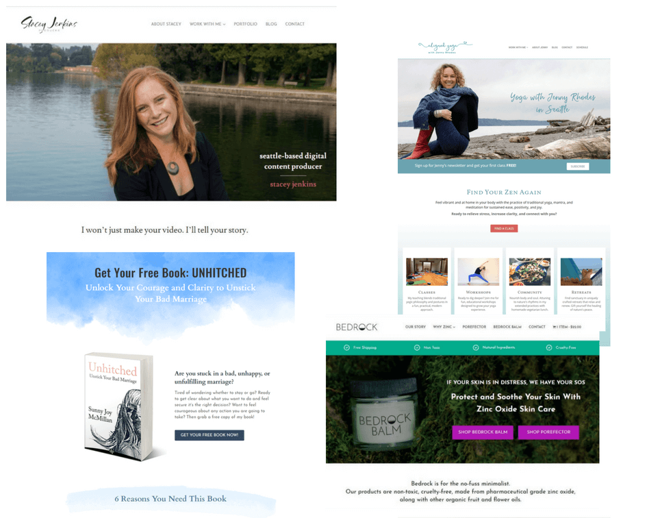 Website Design Christina Petrie