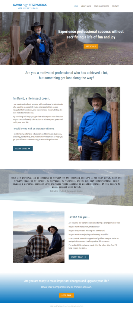 Life-Impact-Coaching-David-FitzPatrick-website-screen-shot