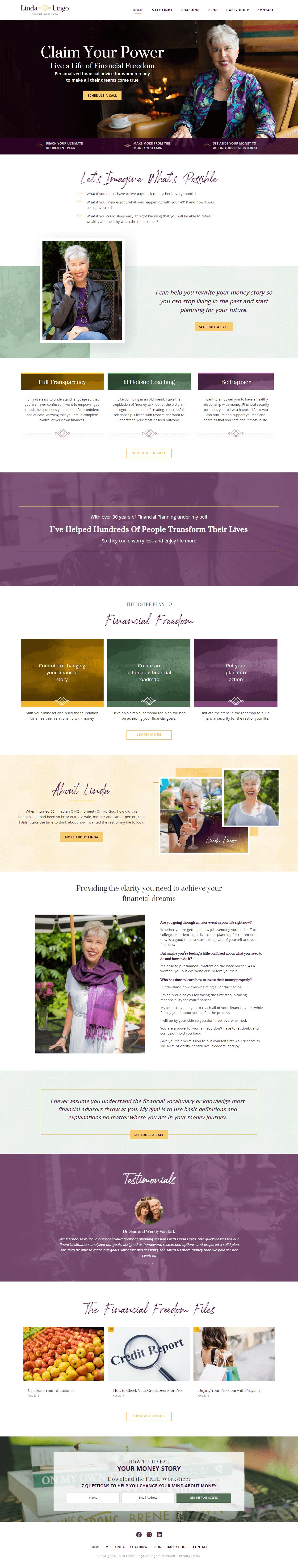 Linda-Lingo-home-page