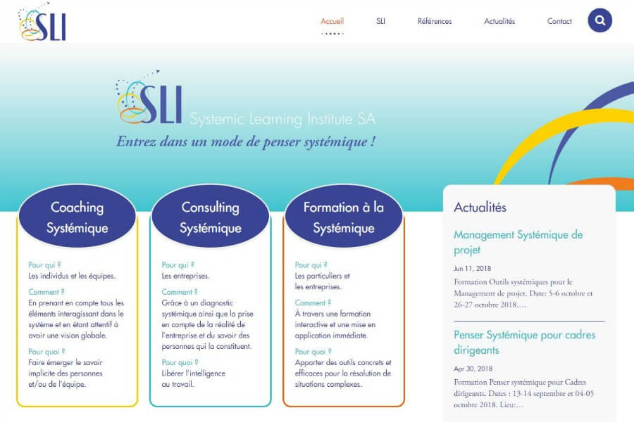 Systemic-Learning-Institute-website